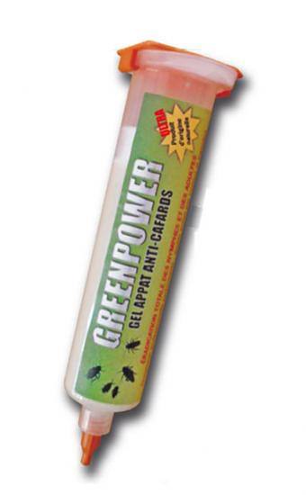 Insecticide Gel Anti Cafard GREENPOWER ULTRA