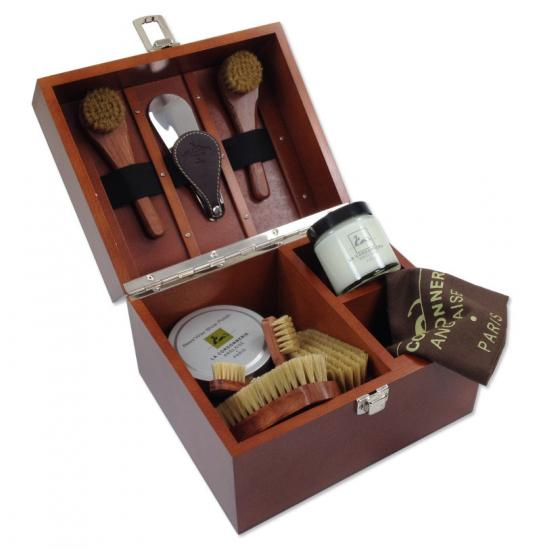 Coffret Cirage Groom Bois de Rose
